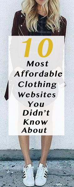 10 Most Affordable Clothing Websites You Didn't Know About