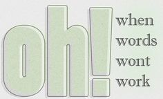 """Article about the """"Ooooh's"""" and """"Whooah's"""" in worship"""
