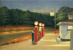 Edward Hopper is a painter of gloomy-looking paintings which don't make us feel gloomy. Instead, they help us to recognise and accept the loneliness that so often lies at the heart of sadness. In his Automat, a woman sits alone drinking a cup of coffee. It is late and, to judge by her hat and co