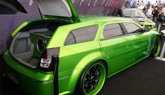 OMG the color & rims on this beast! Loev to own that! (How to Install Aftermarket Taillights on a 2005-2008 Dodge Magnum)