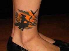Afbeeldingsresultaat voor tattoo witch broom and hat