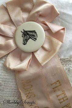 vintage horse show ribbons 001 copy by shabbyscraps, via Flickr