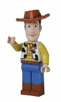 """Looking for great deals on """"LEGO Toy Story Woody""""? Compare prices from the top online toy retailers. Save big when buying your favorite LEGO sets. Lego Minifigure, Lego Technic, Lego Disney, Disney Toys, Casa Lego, Lego Toy Story, Lego Activities, Lego People, Shops"""