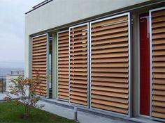 In alcune zone d'Italia il sole inizia già a bruciare...avete mai pensato a un SISTEMA DI SCHERMATURA per la vostra casa? Ecco qui tutte le informazioni! http://www.arredamento.it/articoli/articolo/rivestimenti/2487/brise-soleil-sistemi-di-schermatura-moderni.html