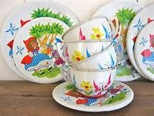 Vintage 1970's Toy Dishes - Yahoo Image Search Results
