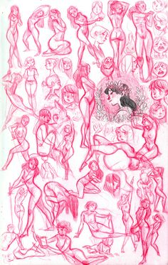 These are all the pencil sketches I have found time to do in April… I would usually do about this many in a day or two at most. Drawing Reference Poses, Drawing Poses, Sketch Inspiration, Character Design Inspiration, Anatomy Sketches, Art Sketches, Character Design Animation, Character Art, Zentangle Drawings