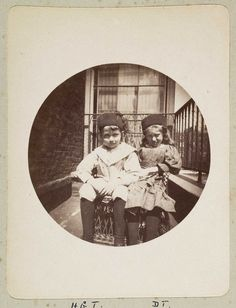 Two children on a balcony by National Media Museum, via Flickr