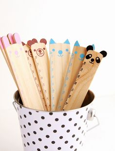 Cute animal rulers