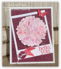 Dahlias are Blooming ~ Craft-somnia Momma Stylin' Stampin' Squad Blog Hop