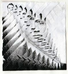 'Fragmented Collage by Kim Morley Foto Portrait, Portrait Photography, Photography Collage, Photomontage, Photoshop, Illustrator, Glitch Art, Grafik Design, Art Plastique