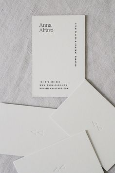 Business Cards - Anna Alfaro - Mery Garriga