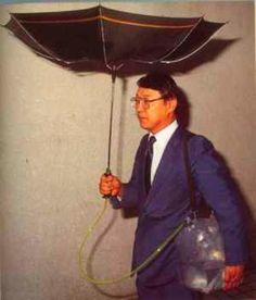 Rainwater Harvesting Umbrella Scales Up : TreeHugger  #rainwaterharvesting