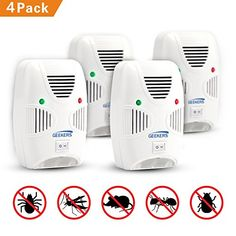 Access Control Kits Security & Protection Honest Portable Intelligent Electronic Ultrasonic Mosquito Insect Repellent Pest Reject Insect Killer Adjustable Frequencies Usb Charg