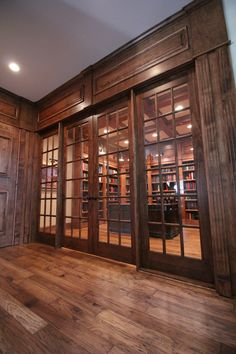 Entry way to library Custom Cabinetry, Divider, Entryway, Room, Furniture, Design, Home Decor, Custom Closets, Entrance