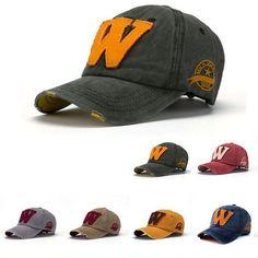 7a520b500c2 Snapback Hats Unisex Summer Letter W Hockey Baseball Caps Hip Hop Hats. Mens  Sun HatsSport ...
