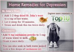Natural home remedies for depression. Holistic Remedies, Natural Health Remedies, Herbal Remedies, Herbs For Depression, Emotional Disorders, Depression Remedies, Top 10 Home Remedies, Overcoming Depression, Health And Wellbeing