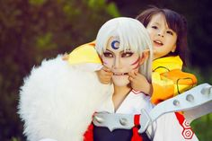 Sesshoumaru and Rin Cosplay #Inuyasha