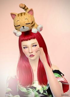 Jenni Sims: Accessory Toy Kitty • Sims 4 Downloads