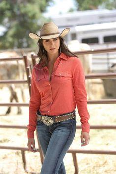 b0b47846806 Cruel Girl® Ladies Red Rhinestone Shirt