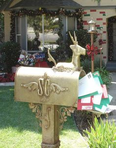DAVE LOWE DESIGN the Blog: Santa's Mailbox