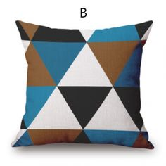 Simple Geometric throw pillow for couch