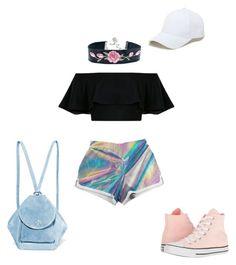 """Coachella"" by izavaldovinom on Polyvore featuring moda, Converse, MANU Atelier e Sole Society"