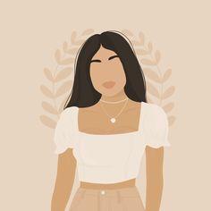 Digital Art Girl, Human Art, Aesthetic Art, Colorful Pictures, Cute Wallpapers, Digital Illustration, Your Image, Vector Art, Color Blocking