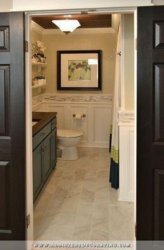 Diy Bathroom Remodel Before And After hallway bathroom remodel: before & after | hallways, the o'jays
