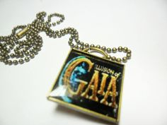 Illusion of Gaia pendant on ball chain 18 by ReturnersHideout, $16.00