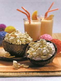Coconut Monkey Popcorn Snack Mix