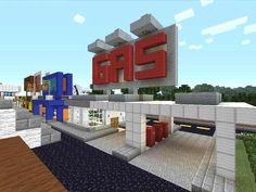 minecraft gas station | MURDER TOWN (pvp horror game with lots of pics) - Minecraft Forum