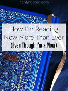 If we don't make time for books, we're simply not going to read them. Here are 4 things I'm doing to make time for reading and become a bookworm again.
