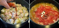 Ρολάκια μελιτζάνας γεμιστά με μοσχάρι κοκκινιστό - Χρυσές Συνταγές Potato Salad, Potatoes, Ethnic Recipes, Food, Potato, Essen, Meals, Yemek, Eten