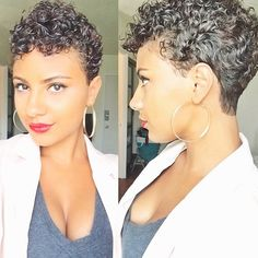 Short natural style