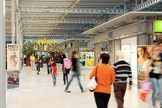 Lingotto shopping centre interior