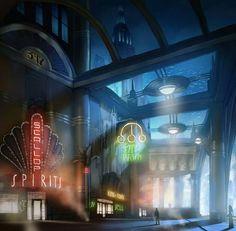 BioShock Infinite Rapture, Under the Sea