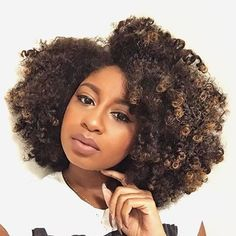 Fab look with #coily #naturalhair  #naturalhairstyle