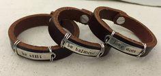 Women's Bracelets Women's Leather Bracelets by JuniperVale on Etsy