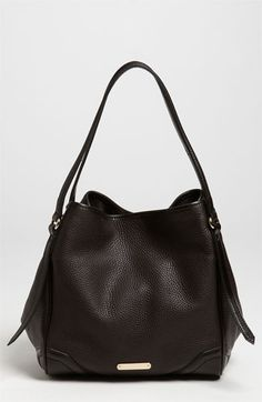 Burberry 'London Grainy' Leather Tote | Nordstrom i finally find the bag i want and its like $1085.82.....WTF!!!!!!!