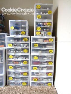 Cookie Cutter storage organization organize cookie-cutter cookiecutter