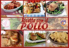 RICETTE CON IL POLLO Tantissime ricette con il pollo un alimento davvero buono, gustoso, povero di grassi economico e versatile. CLICCATE SULLE FOTO PER LE