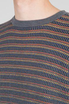Fleck Knit Jumper - Grey Multi