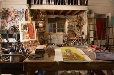 grace and frankie's painting studio - Google Search