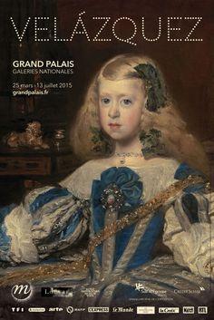 Velazquez au Grand Palais. Affiche