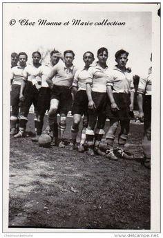 NIMES 1932 - EQUIPE DE FOOT - FOOTBALL - GARD 30 - PHOTO 8.5 X 6 CM