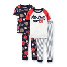 Carter's® 4-pc. Pajama Set - Baby Boy 6m-24m  found at @JCPenney
