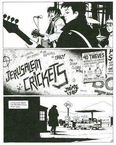 nohoudini:    Jaime Hernandez,Jerusalem Crickets