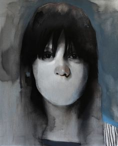 Original portrait painting by One to Watch artist Michał Janowski (UK)  #SaatchiArt.