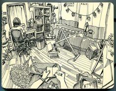 Linda's studio | Flickr - Photo Sharing!