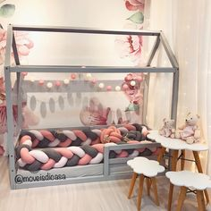 kleinkind zimmer Confident advertised kids room decor Bookmark this site or page Girl Decor, Baby Room Decor, Bedroom Decor, Bedroom Ideas, Rustic Bedroom Design, Girl Bedroom Designs, Big Girl Bedrooms, Little Girl Rooms, Baby Bedroom
